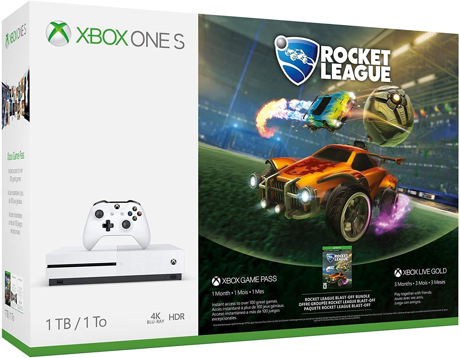 XBOX ONE S 1TB Rocket League Bundle