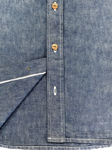 Fruitvale Button-Down Light Blue Denim Shirt
