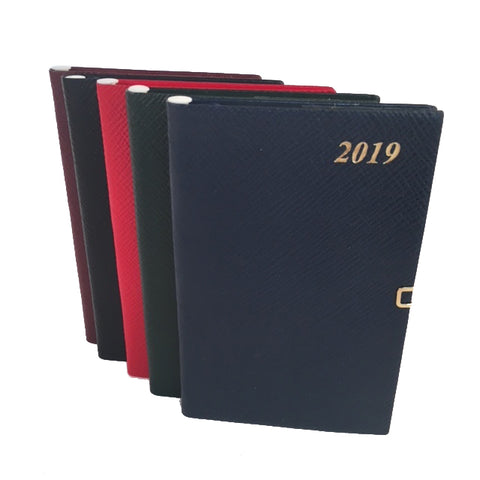 2019 Diary, 5 by 3 | Crossgrain | Pencil & Clasp | D753LJC