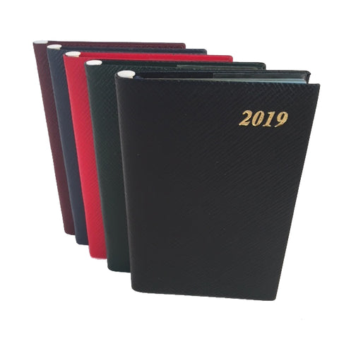 2019 Diary, 5 by 3 | Crossgrain | Pencil in Spine | D753LJ