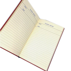 Skivertex Travel Log, 6 by 4 Inches-Notebooks-Sterling-and-Burke