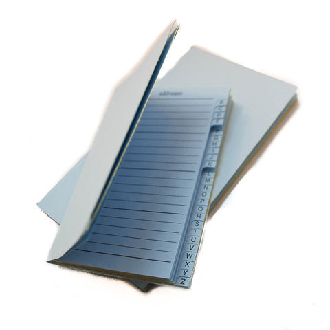 Diary Removable Address Section, 4 by 2 Inches