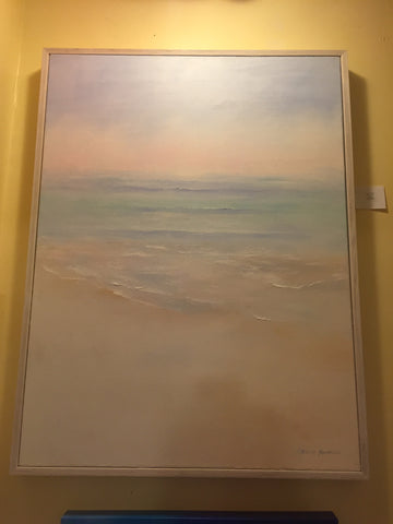 "Art | Summer, Dreaming | Original Oil Painting by Claire Howard | 40"" x 30"""