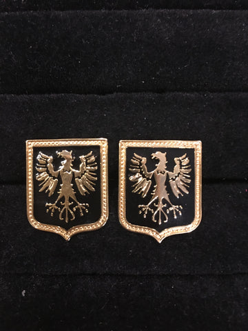 Eagle with Talon Cufflinks-Cufflinks-Sterling-and-Burke
