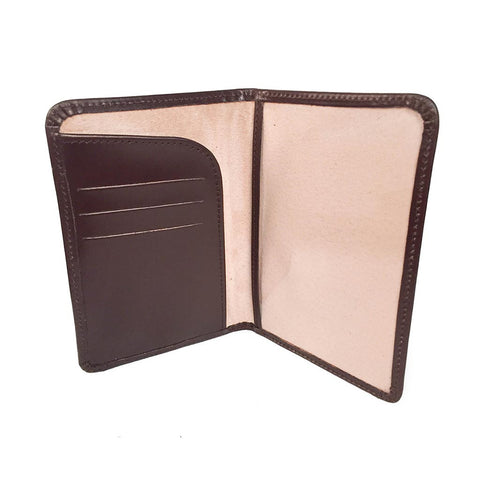 Passport Cover | Bridle Leather and Suede Lining | Red, Black, Brown, Burgundy | Made in England | Sterling and Burke