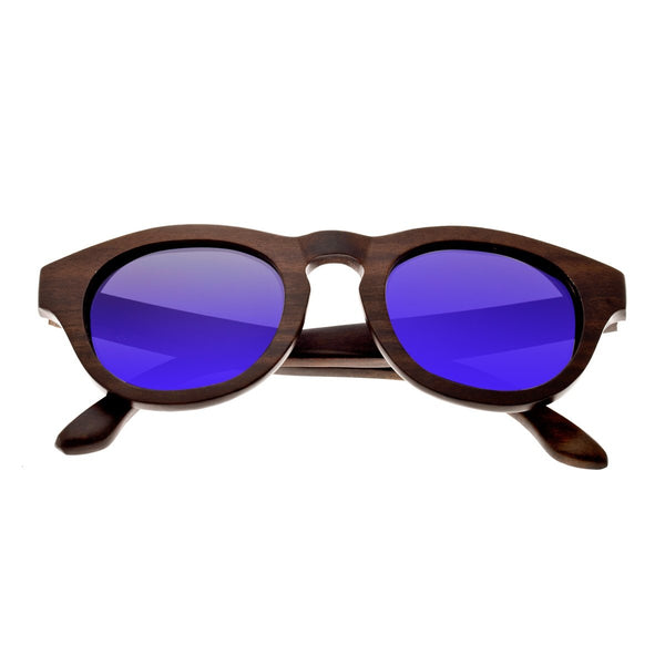 Earth Wood Cocoa Sunglasses w/ Polarized Lenses - Brown Stripe/Black - Earth Wood Goods - Wood Watches, Wood Sunglasses, Natural Cork Bags