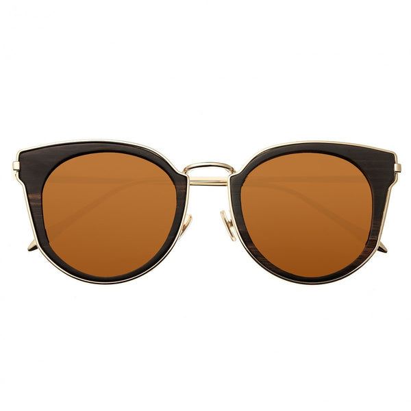 Earth Wood Karekare Sunglasses w/Polarized Lenses - Espresso/Brown - Earth Wood Goods - Wood Watches, Wood Sunglasses, Natural Cork Bags
