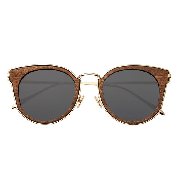 Earth Wood Karekare Sunglasses w/Polarized Lenses - Red Rosewood/Black - Earth Wood Goods - Wood Watches, Wood Sunglasses, Natural Cork Bags