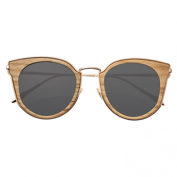 Earth Wood Karekare Sunglasses w/Polarized Lenses - Walnut/Black - Earth Wood Goods - Wood Watches, Wood Sunglasses, Natural Cork Bags