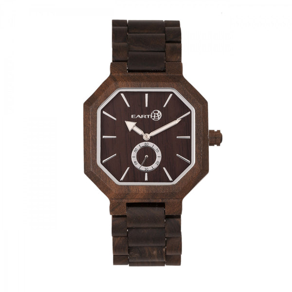 Earth Wood Acadia Bracelet Watch - Dark Brown - Earth Wood Goods - Wood Watches, Wood Sunglasses, Natural Cork Bags
