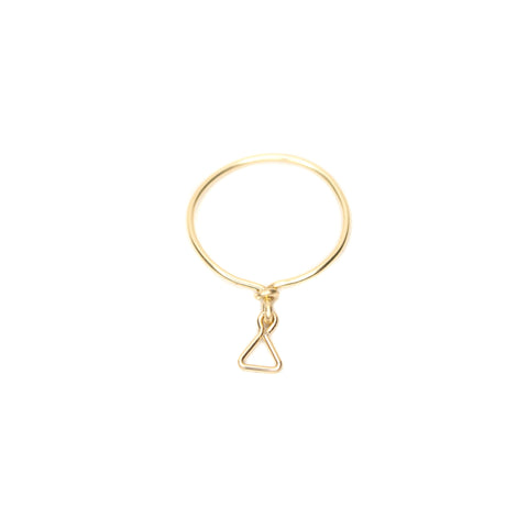 Blanc Dangle Ring