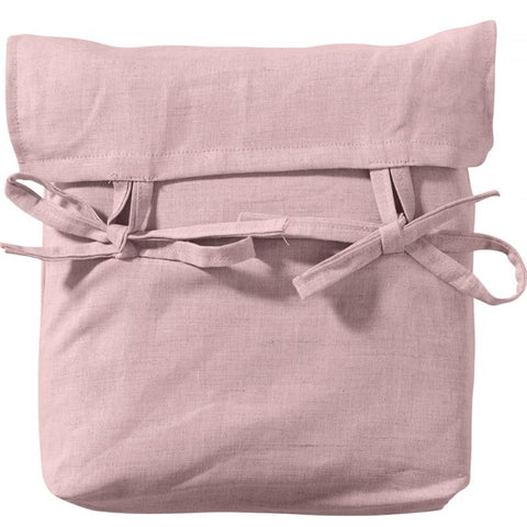 Oliver Furniture Seasides Collection halbhohes Hochbett Vorhang rosa
