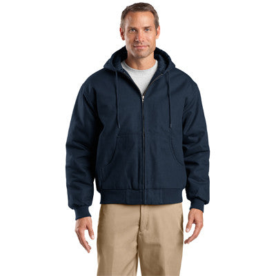 Cornerstone Duck Cloth Hooded Work Jacket - EZ Corporate Clothing  - 4