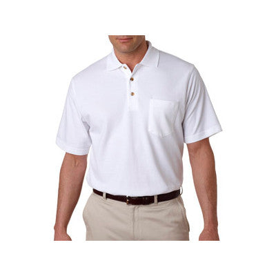 UltraClub Classic Pique Polo with Pocket - EZ Corporate Clothing  - 11