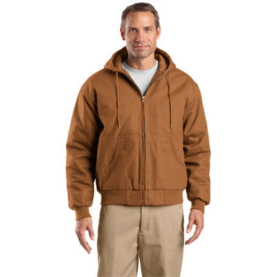 Cornerstone Duck Cloth Hooded Work Jacket - EZ Corporate Clothing  - 3