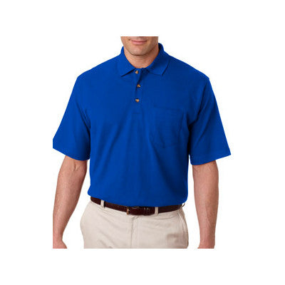 UltraClub Classic Pique Polo with Pocket - EZ Corporate Clothing  - 9