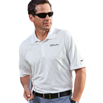 Nike Golf Dri-Fit Cross-Over Texture Polo