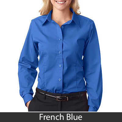 Ladies' Easy-Care Broadcloth 8355L - EZ Corporate Clothing  - 3