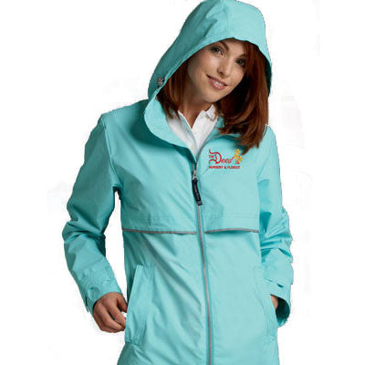 Charles River Womens Rain Jacket - 5099
