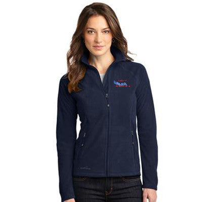 Eddie Bauer Ladies Full-Zip Microfleece Jacket - EB225