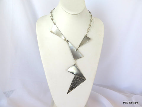 Artisan Silver Neck Piece | Handmade Silver Necklaces