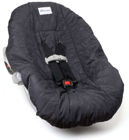 Charcoal Car Seat Cover for Infants and Babies