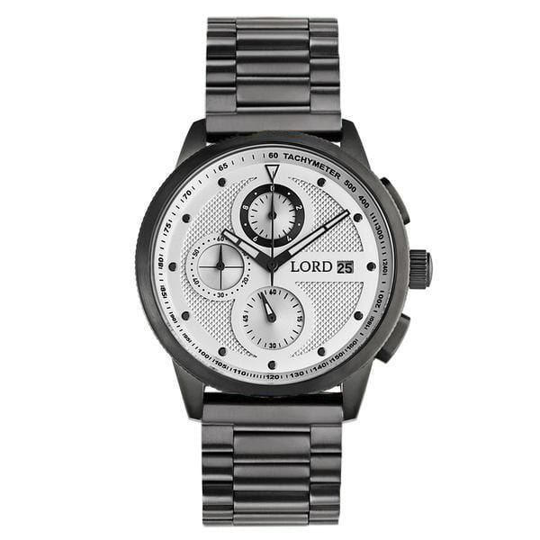 Lordtimepieces-Chrono-White-Gunmetal-watch-front