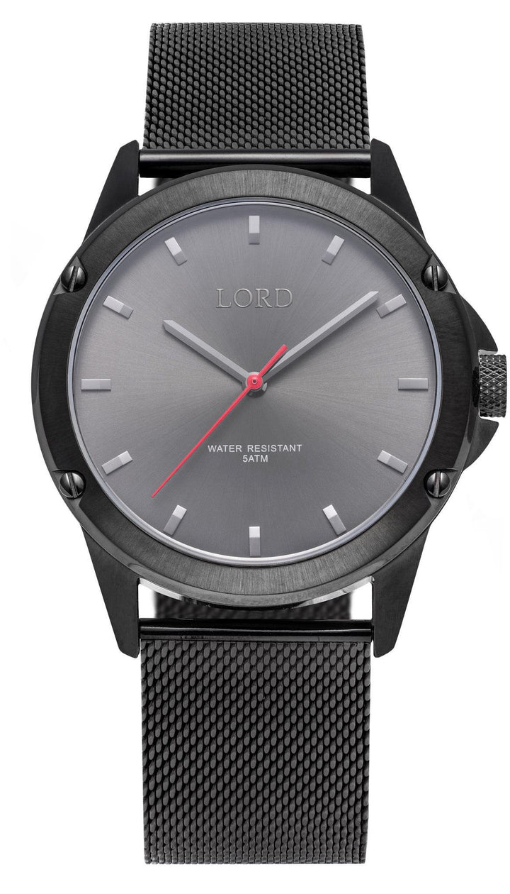 Bolt-Midnight-Black-Grey-Stainless-Steel-Watch-Lord-Timepieces