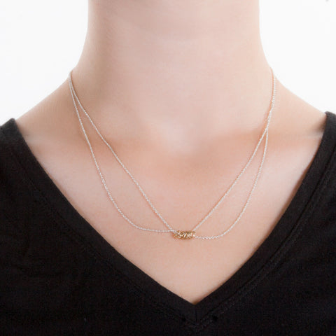 Angle Rings Necklace