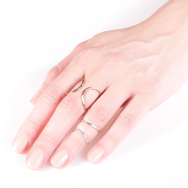 Litho Infinity Ring