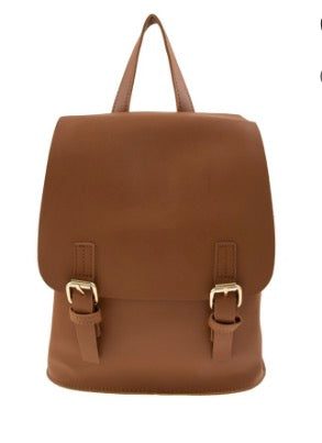 Backpack Handbag-Camel