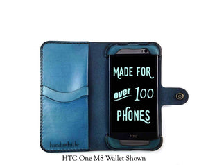HTC One M9 Plus Custom Wallet Case - Phone Wallet - Hand and Hide LLC