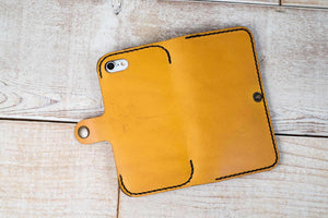 iPhone 7 or 8 Leather Phone Case | Yellow