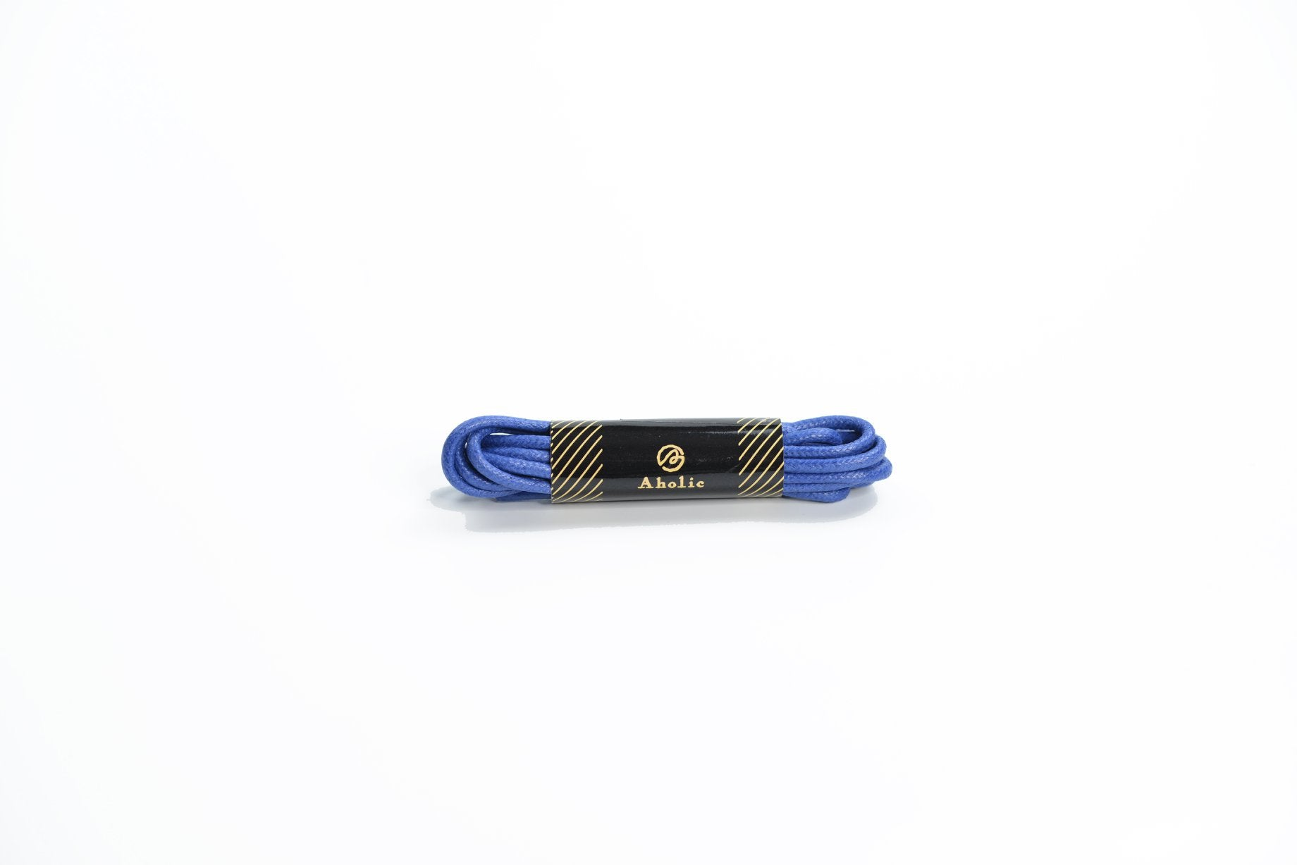 Aholic Anti-Stain Waxed Shoelaces Bundle (上蠟抗污皮鞋鞋帶組合) - 7 Colors (7色)-Shoelaces-Navy Selected Shop