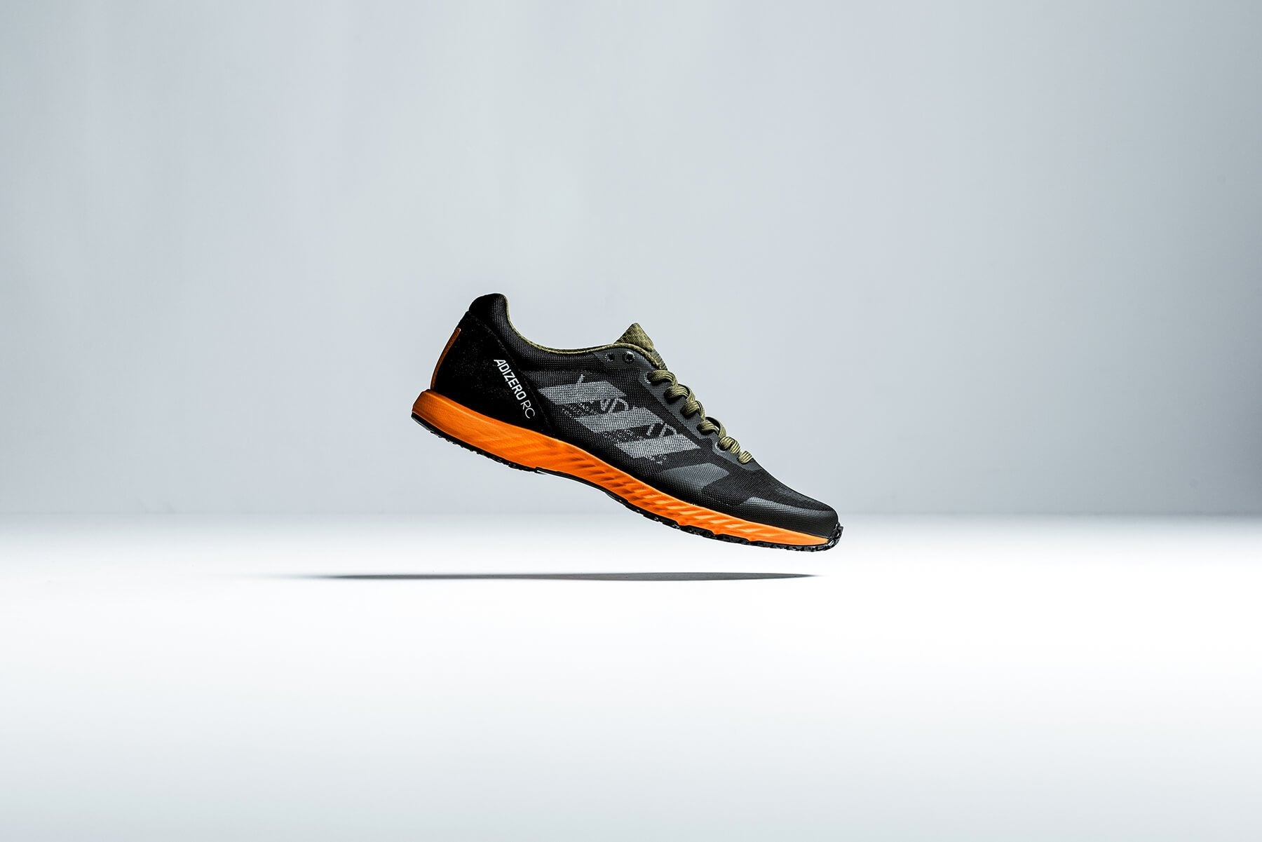 Undefeated x adidas Adizero RC - Black/White/Light Grey Heather/Orange #G26648-Preorder Item-Navy Selected Shop
