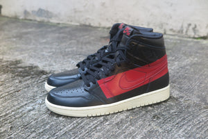 Air Jordan 1 High OG Defiant - Black/Gym Red/Muslin #BQ6682-006-Sneakers-Navy Selected Shop