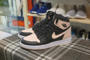 Air Jordan 1 Retro High OG GS - Black/Crimson Tint #575441-081-Sneakers-Navy Selected Shop