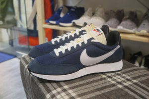 Nike Air Tailwind 79 - Dark Obsidian/Midnight Navy/Black/White #487754-406-Sneakers-Navy Selected Shop