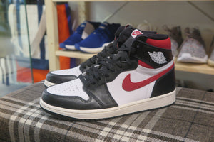 Air Jordan 1 Retro High OG - Black/Gym Red/White/Sail #555088-061-Sneakers-Navy Selected Shop