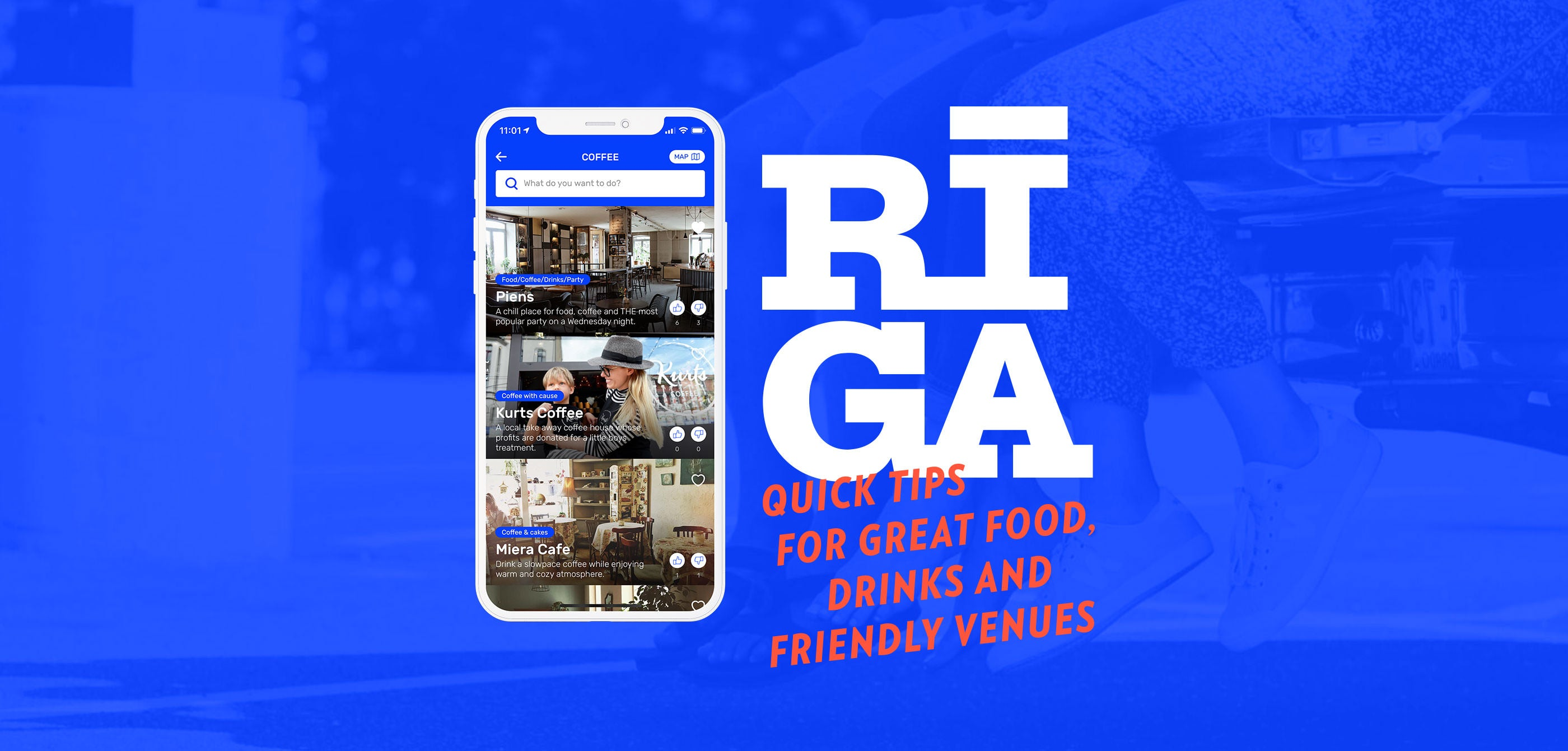 RIGA Original city guide app