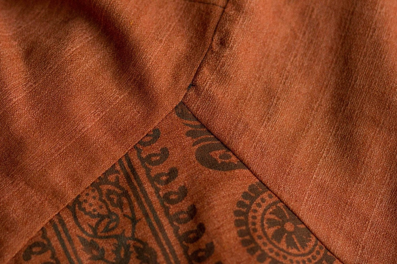 Orange-Red Om PantsMenswear