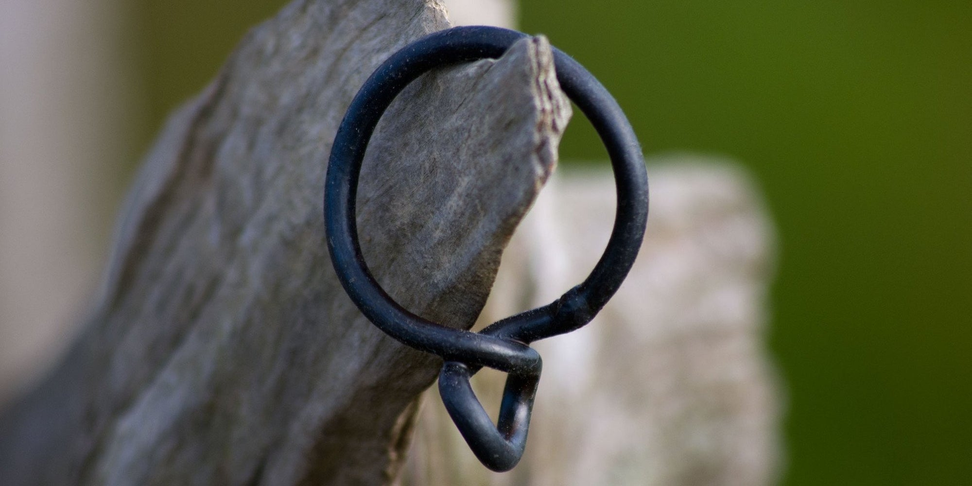 Wrought Iron Curtain Ring