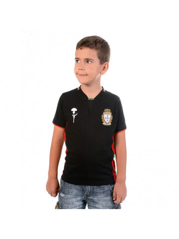 T SHIRT ADEPTOS NOIR ENFANT TAILLE 12 ANS CR7 BY VIP