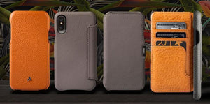 The iPhone X Has Arrived - Shop Vaja for Premium iPhone X Leather Cases