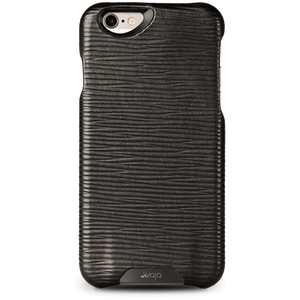 Grip Legno Nero - Black Label iPhone 6 Plus/6s Plus Premium Leather Case - Vajacases