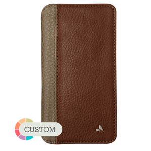 Customizable Wallet LP iPhone 7 Plus leather case - Vajacases