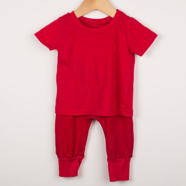 Red Baby Outfit