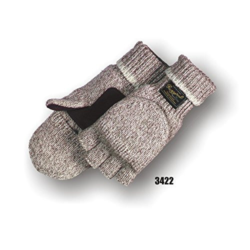 Majestic Glove 3422P/10 Rag Wool, Hood, Leather Patch, Thinsulate