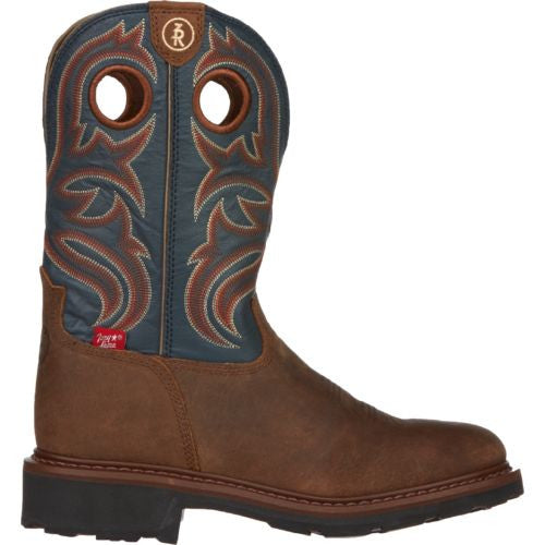 Tony Lama Mens Oak Crazy Horse Buffalo Work Boot