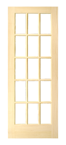 15 Lite French Door